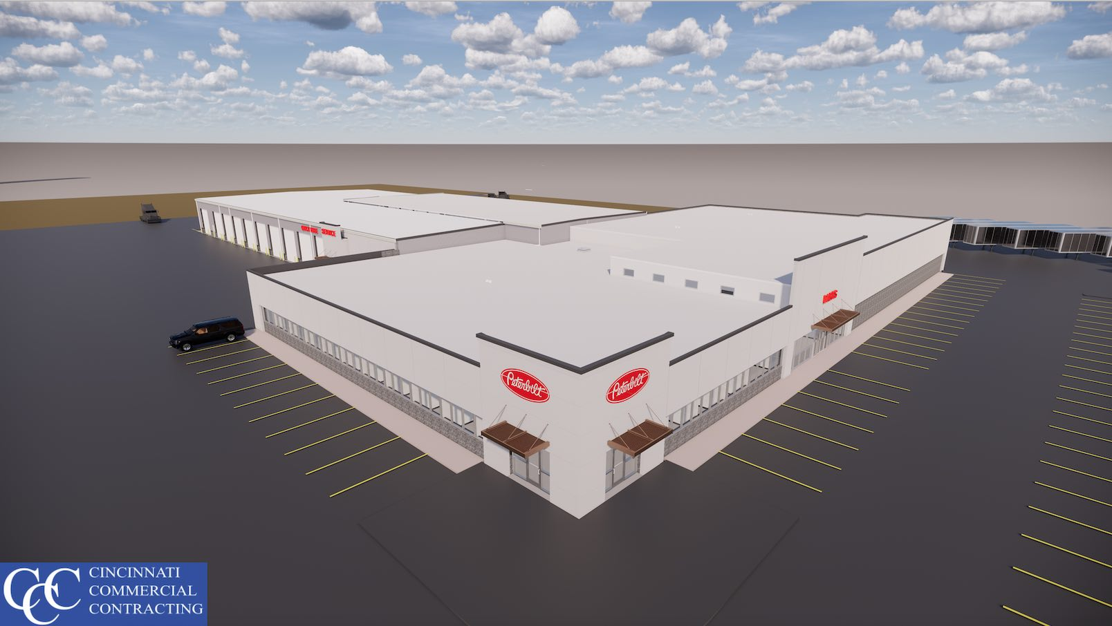 CCC rendering for Peterbilt project