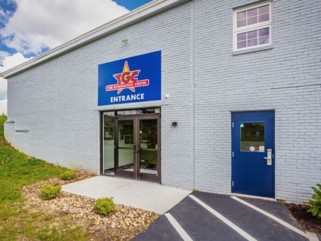 The Gymnastics Center Exterior