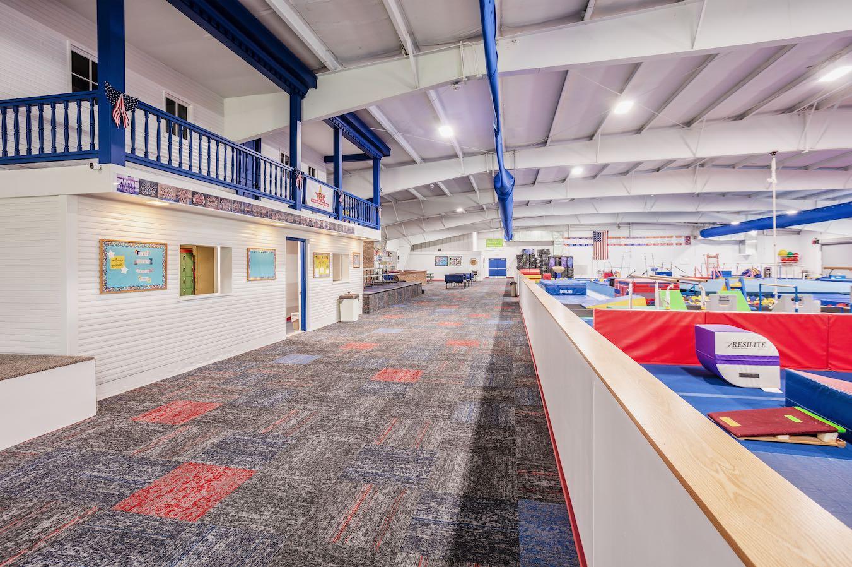 The Gymnastics Center Interior