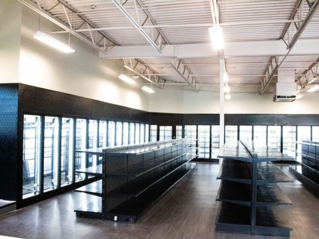 Liberty Wine & Liquor Interior