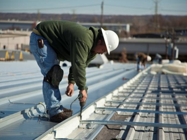 photo of MR-24 Re-roof installation