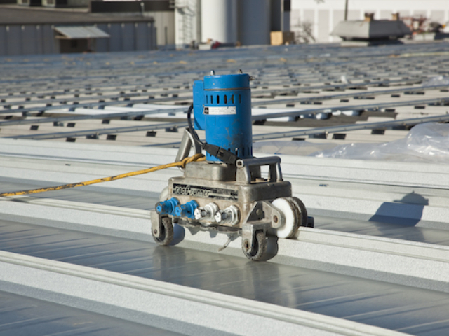 photo of Seamer on MR-24® Re-Roof