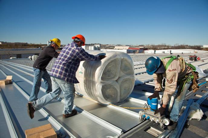 installation of MR-24® Roof System
