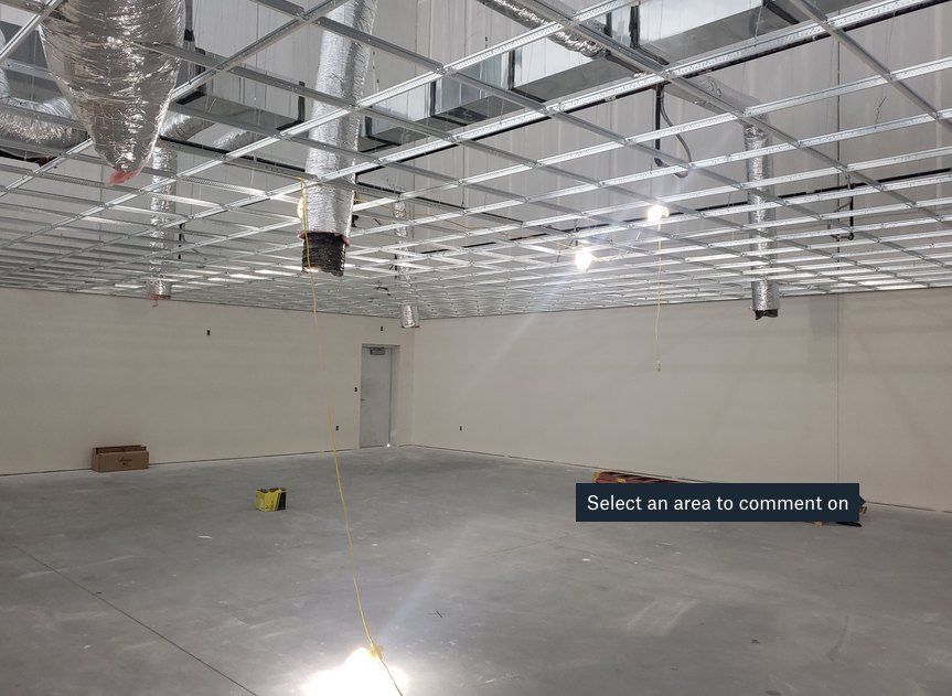 photo of interior of Cintas project