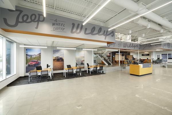 Jake Sweeney Jeep Showroom