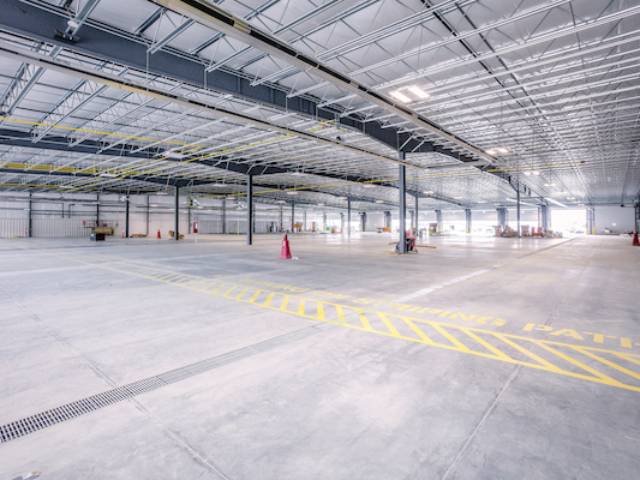 photo of Amazon Airport Hub Interior