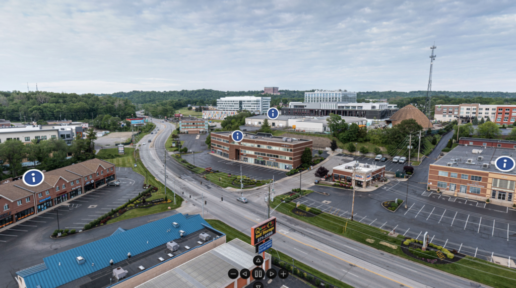 image of CCC properties along the Red Bank Expressway