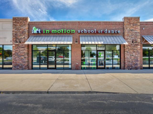 exterior of Art In Motion School Of Dance